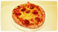 Pizza diavolo. Vir: Flickr